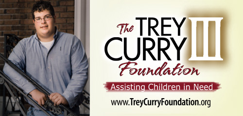Trey Curry Foundation Header Image
